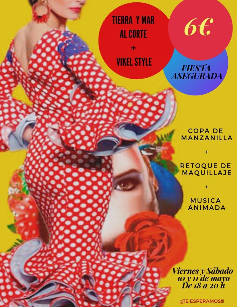 Sevillanas, manzanilla y maquillaje
